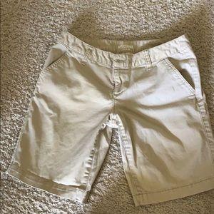 Khaki Shorts - brand new condition